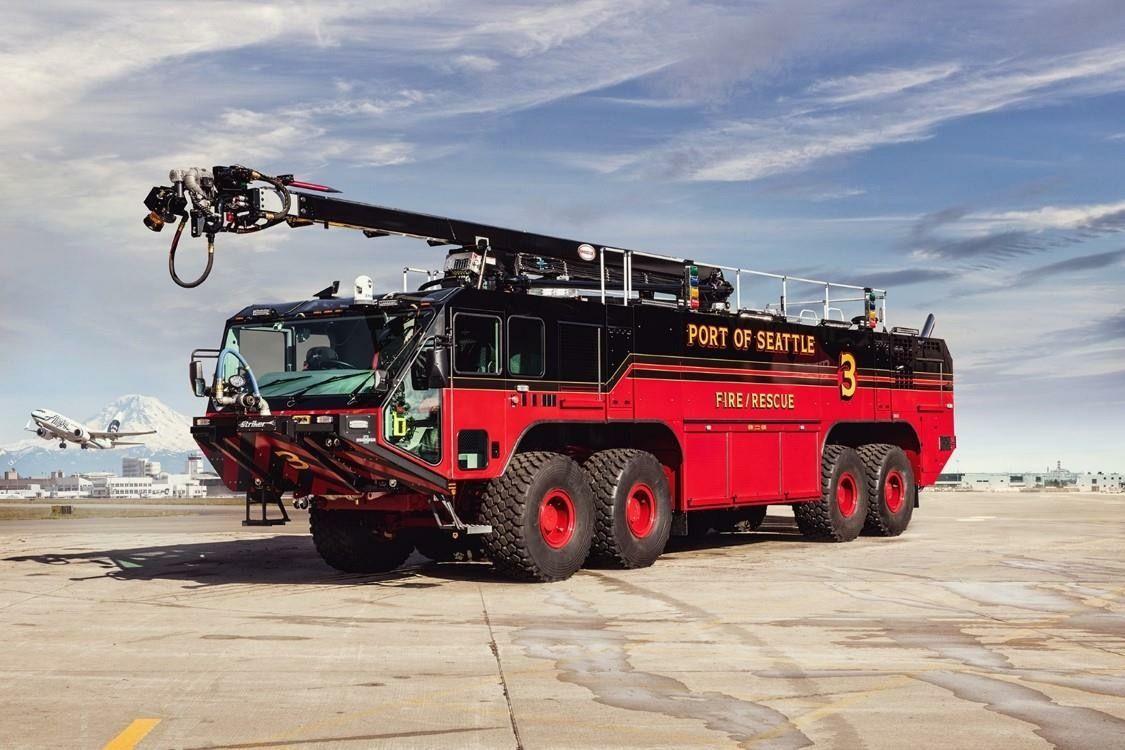 Port of Seattle Fire Rescue 3 Fire trucks, Emergency