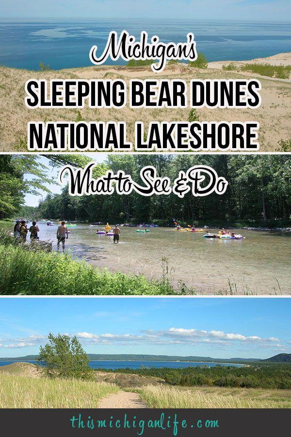 Michigan's Sleeping Bear Dunes National Lakeshore