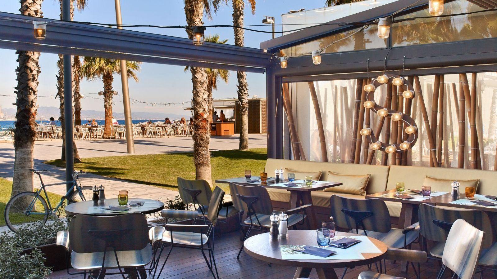 Salt restaurant beach club w barcelona barcelona for Beach club barcelona