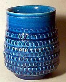 Stoneware vase designed by Gerd Bogelund (b. 1923) for Royal Copenhagen