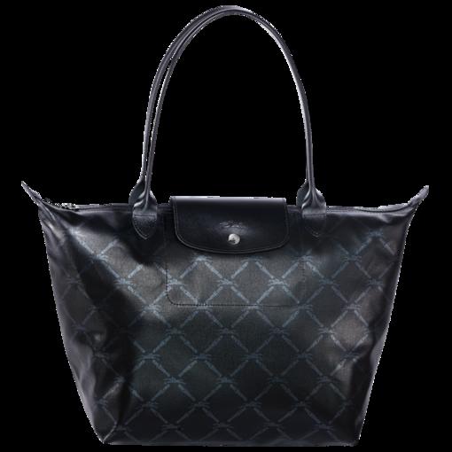 Sac shopping LM Métal Sacs Longchamp Noir