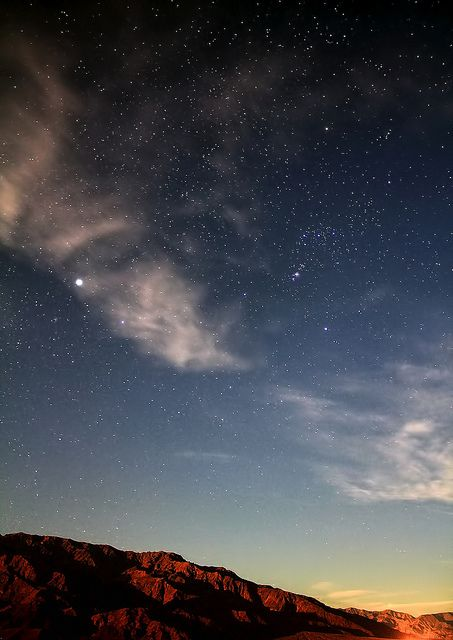 Dusk Stars over Death Valley | Flickr - Photo Sharing! Dave Toussaint