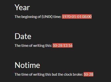 Convert Unix Timestamp Into Datetime - jQuery TimeElement | jQuery