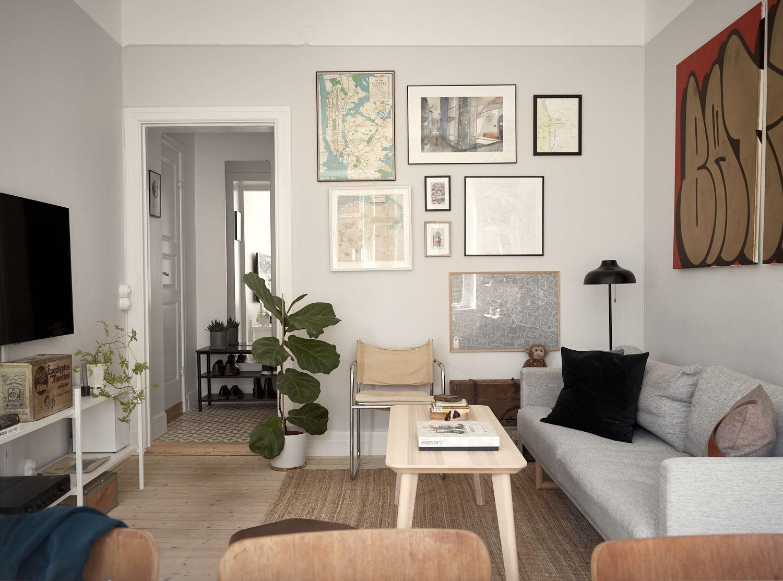 Ikea Lisabo Coffee Table For Hemmet Inredning Inreda Vardagsrum [ 1113 x 1500 Pixel ]
