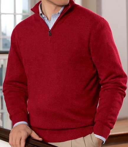 Traveler Cashmere Half Zip Sweater Jos A Bank Sweater Top Menswear Clothing Clothes Apparel Wool Sweater Men Mens Cable Knit Sweater Half Zip Sweaters
