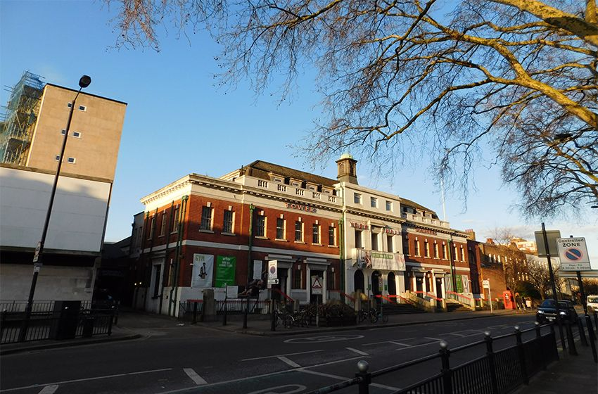 The York Hall Situated On Old Ford Road In Bethnal Green London