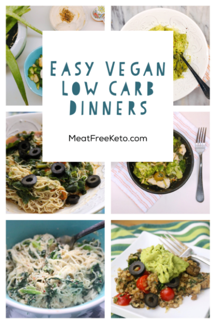 Easy Vegan Keto Dinner Recipes Keto Paleo Vegan Keto