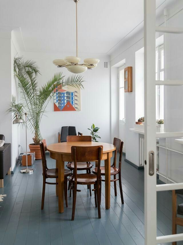 Retro Dining Rooms Home Interiors Corner Space