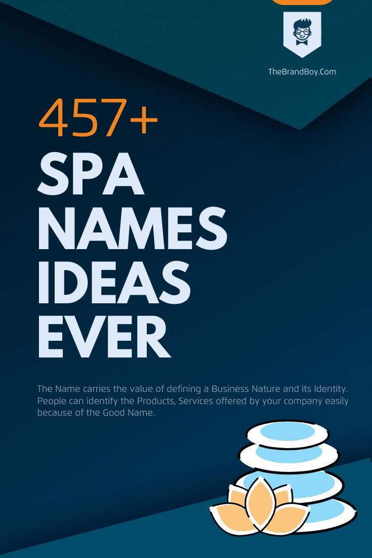 398+ Brilliant Spa Names Ideas Ever | Small Busine
