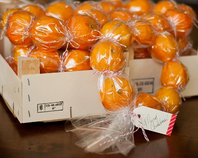 Healthy Christmas Gift Ideas Part - 28: DIY Clementine Wreaths: A Healthy, Fresh Gift!