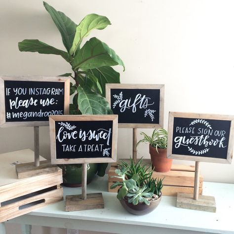 chalkboard sign customized sign gift table sign wedding rh pinterest com