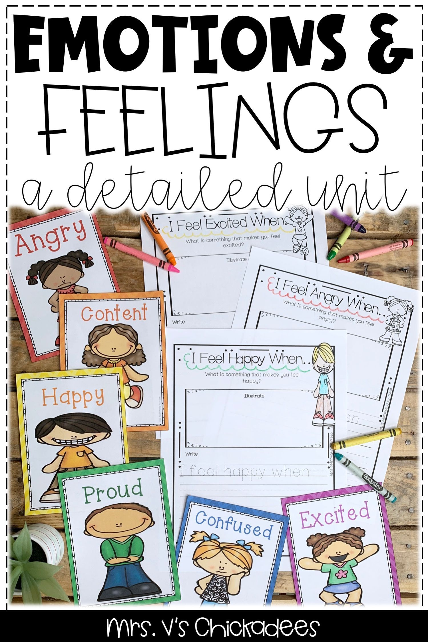Emotions A Detailed Unit On Feelings And Emotions