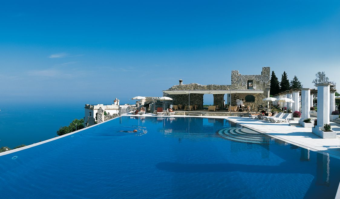 Best hotels ravello italy hotel caruso the infinity pool for Hotels in ravello with swimming pool