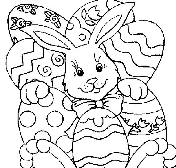 Easter- Coloring- Pages- For- Kids-_43 | Stuff for kids ...