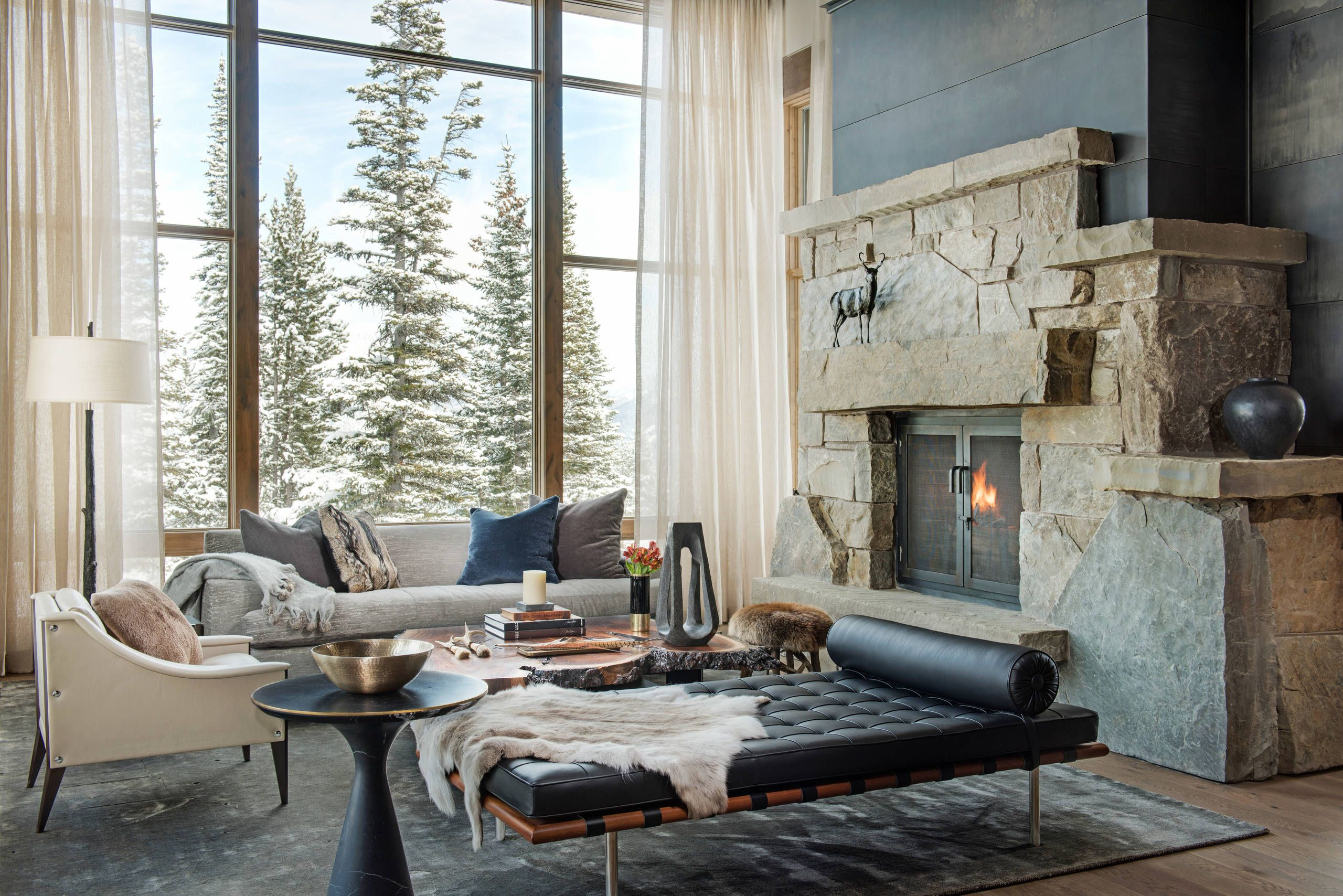 46 picture perfect living rooms living rooms mountain modern rh pinterest ca