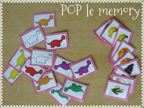 Deco Nature Chambre : pop memory  Pop mange de toutes les couleurs  Pinterest