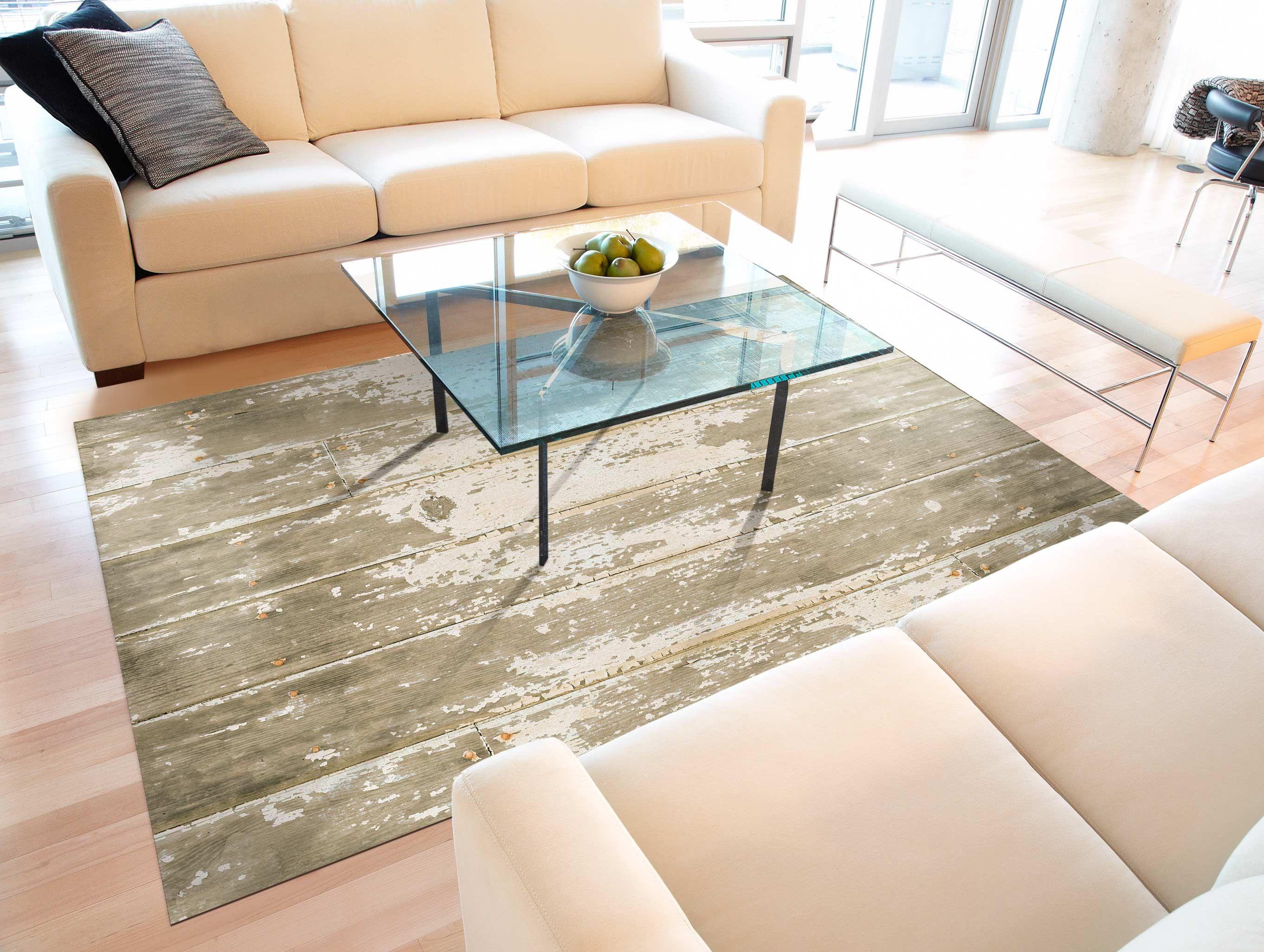 Bungalow Flooring Barnboard Mat - http://www.amazon.com/Bungalow-Flooring-FoFlor-66-Inch-Barnboard/dp/B002HWRGBA