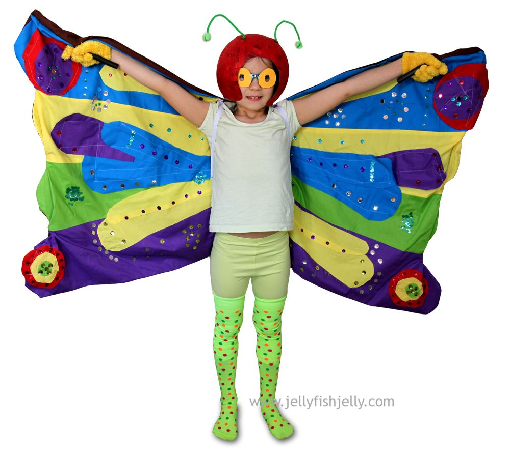 Very Hungry Caterpillar Butterfly Costume eric carle butt...