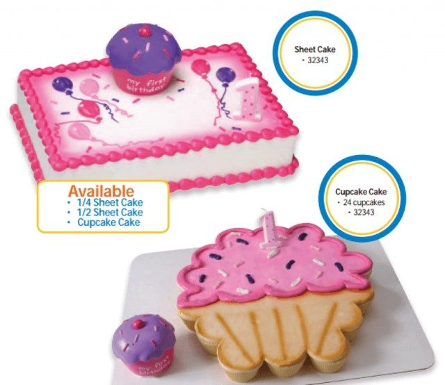 20 Amazing Photo Of Walmart Birthday Cake Catalog Sheet