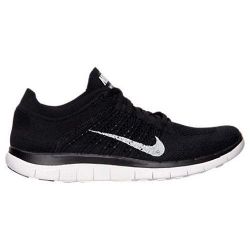 online store 1b949 b622f Nike Free 4.0 Flyknit Mens Running Shoes 14 Black White Dark ...