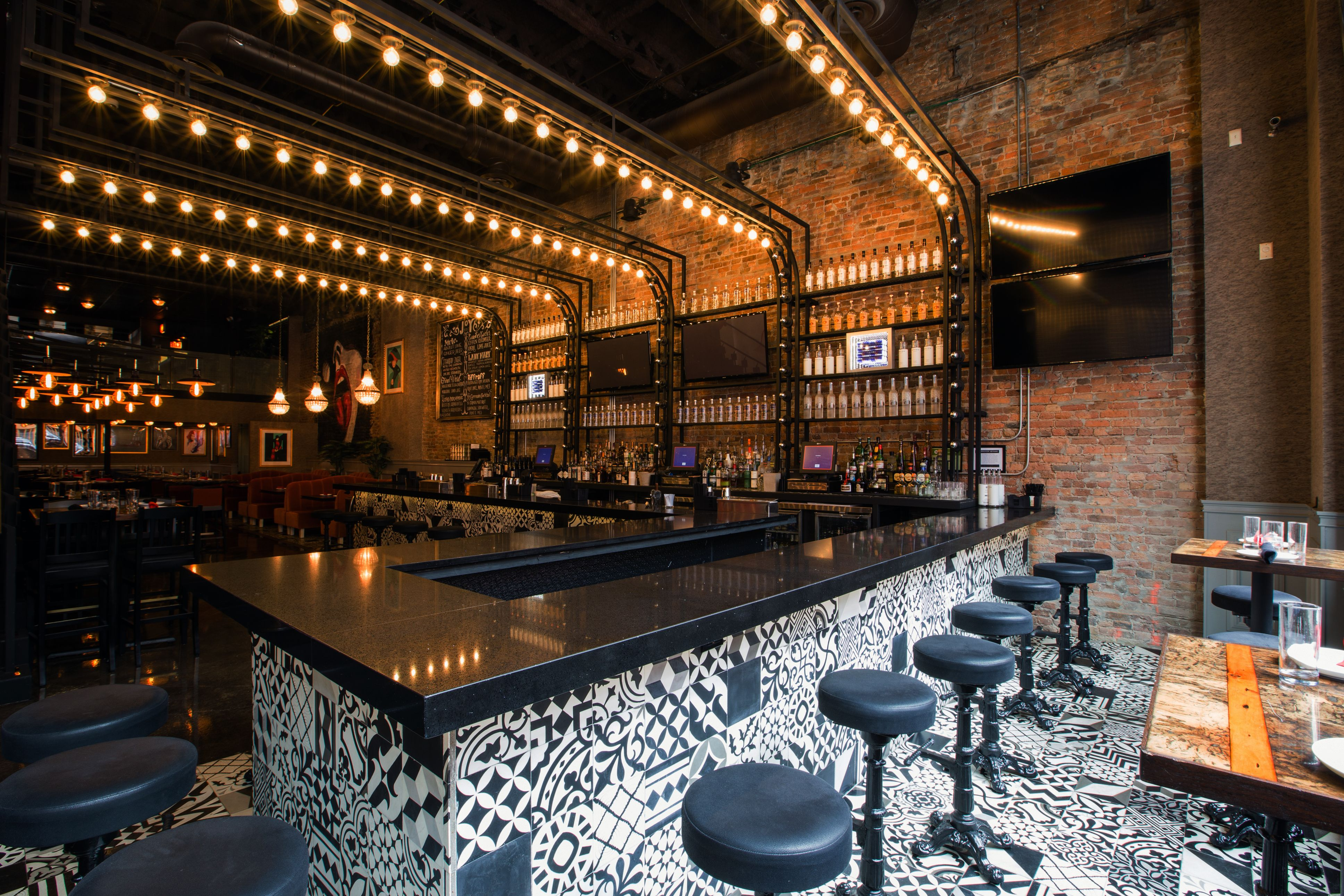 front bar posted by joy district in 112 w hubbard chicago il rh pinterest co uk
