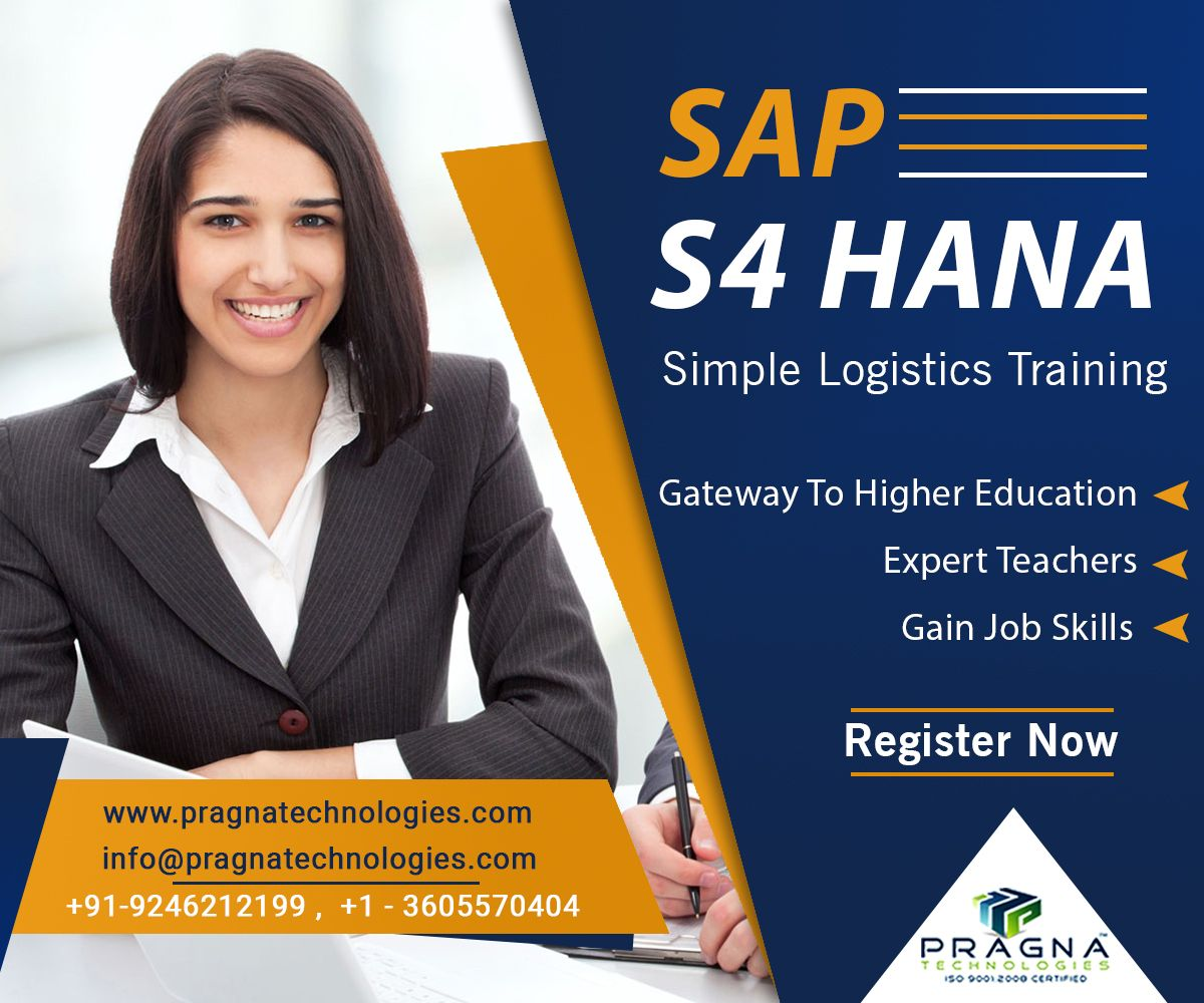 SAP S/4 Hana Simple Logistics Online Training Train