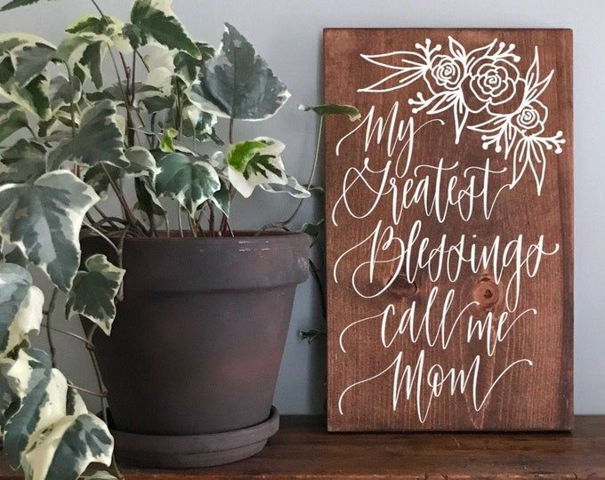 Custom Wood Signs for your Home & Wedding by SamanthaAnnAndCo