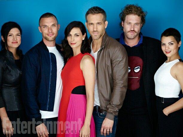 Deadpool Cast My Life Movie Comic Con Movie Photo