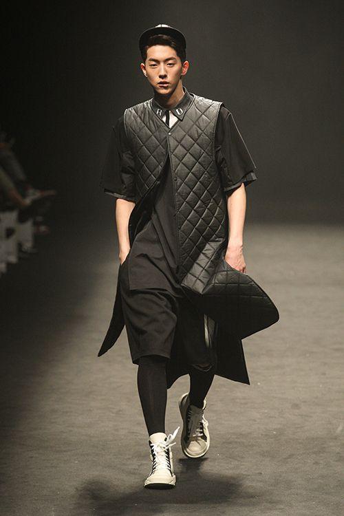 Nam Joo Hyuk at RE.D Fall 2014 Seoul Fashion Week