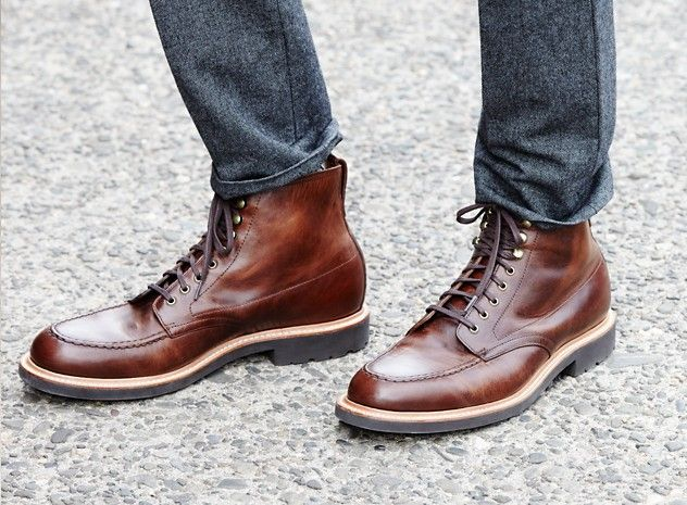Kenton Leather Pacer Boots, J.Crew | Boots, Gentleman shoes