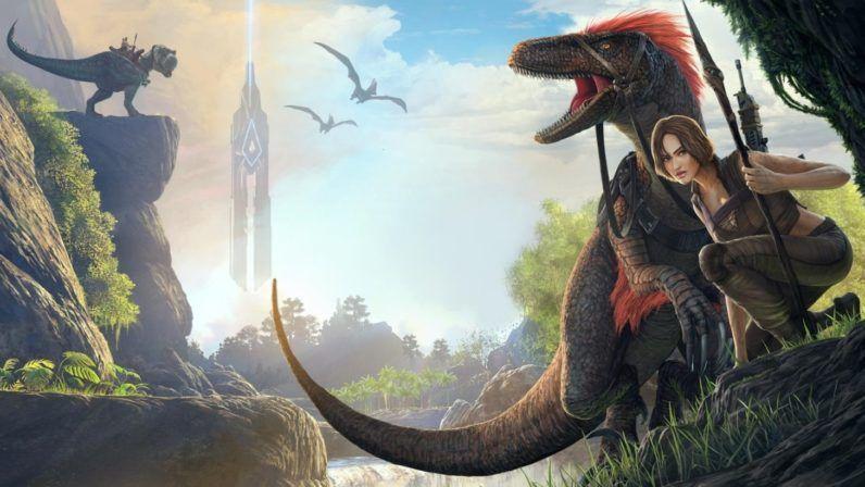 Minecraft With Dinosaurs ARK Survival Evolved Finally Gets A - Minecraft dinosaurier spiele
