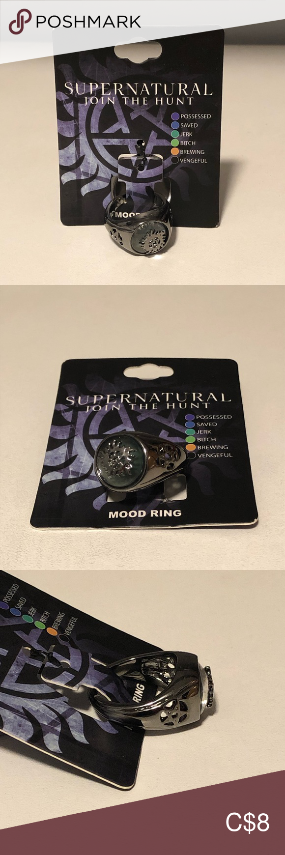 Supernatural Mood Ring NWT in 2020 (With images) Mood