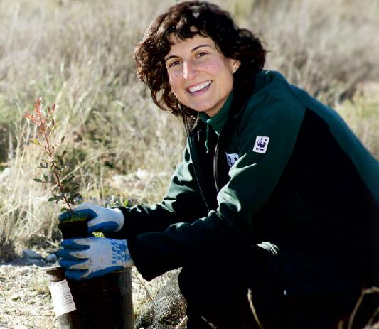 WWF y empleados de Correos restauran un bosque de ribera en el Parque del Sureste (Madrid)