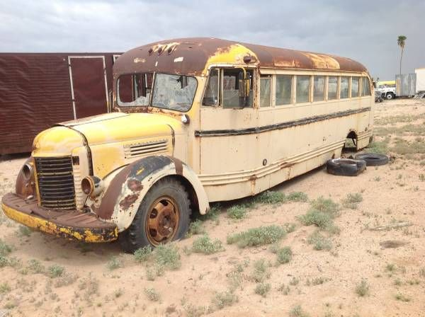 Restoration Project Cars, 1941 International School Bus