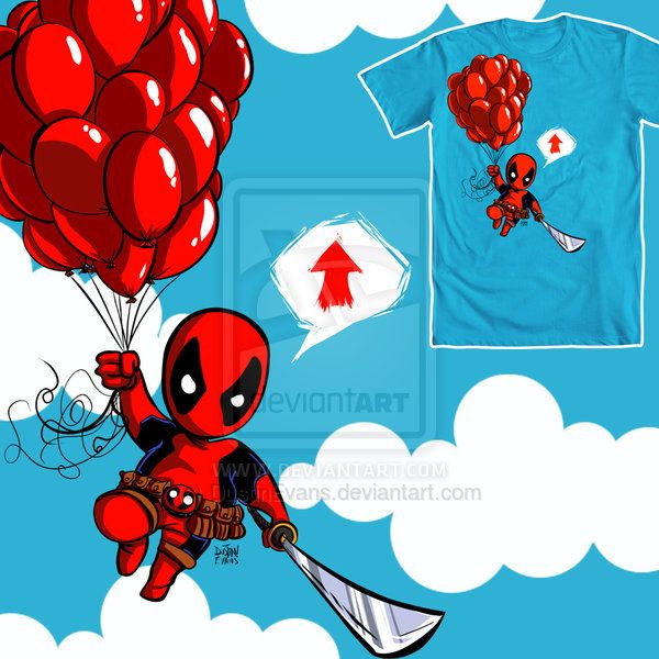 Kidpool T-shirt design by DustinEvans on deviantART