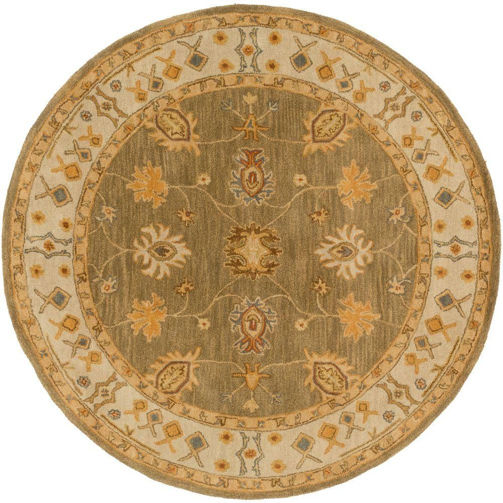 Artistic Weavers Middleton Willow Moss 6 Ft X 6 Ft Round Indoor