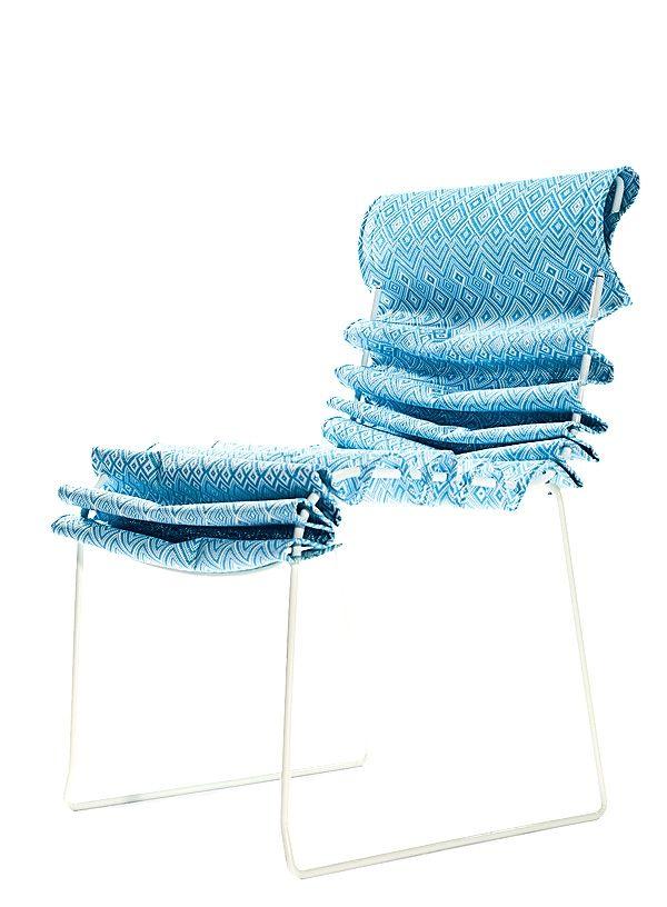 Tie \u2013 Lounge Sessel mit kreativem und funktionalem Design-Konzept