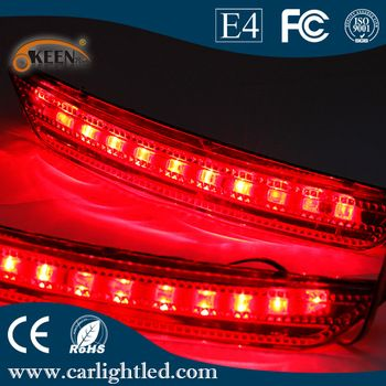 Auto Rear Taillight Brake Lights For For D Mondeo Tail Light Red