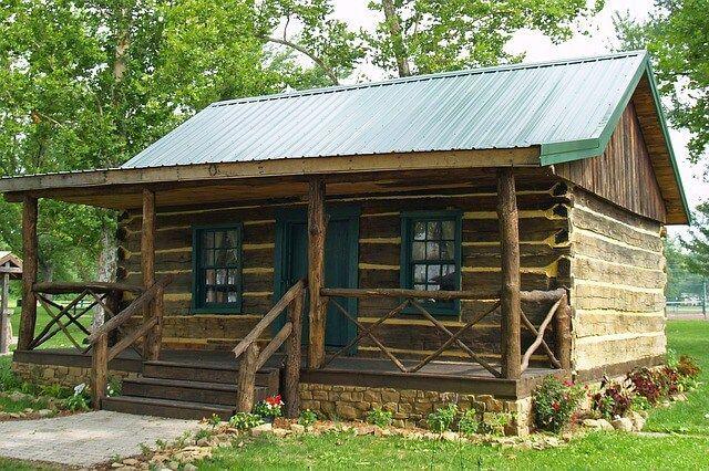Log home mi casa en 2019 casas estilo caba as de - Casas rurales de madera ...
