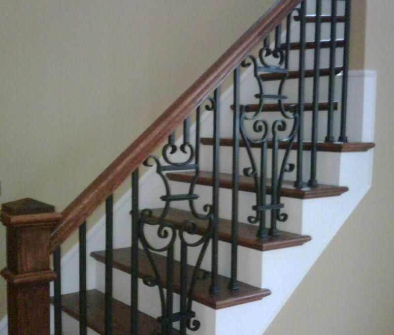 Forged Rod Iron Stair RailingForged Rod Iron Stair Railing   Choosing Rod Iron Stair Railing  . Exterior Metal Stair Handrails. Home Design Ideas