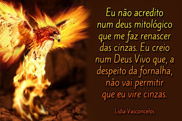 Cinzas Fenix Fornalha Mitologia Deus Vivo Lídia Vasconcelos