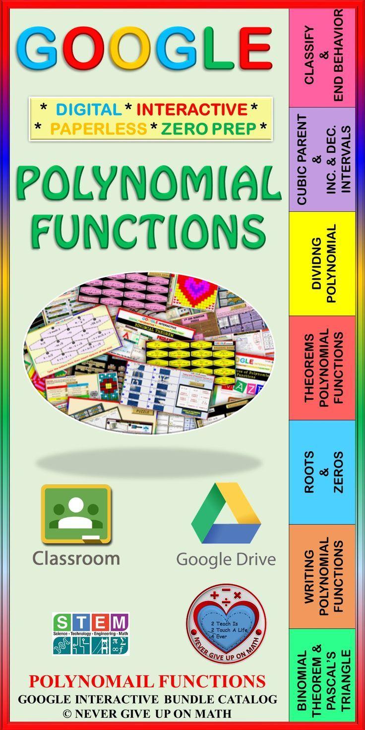Google drive bundle polynomial functions distance