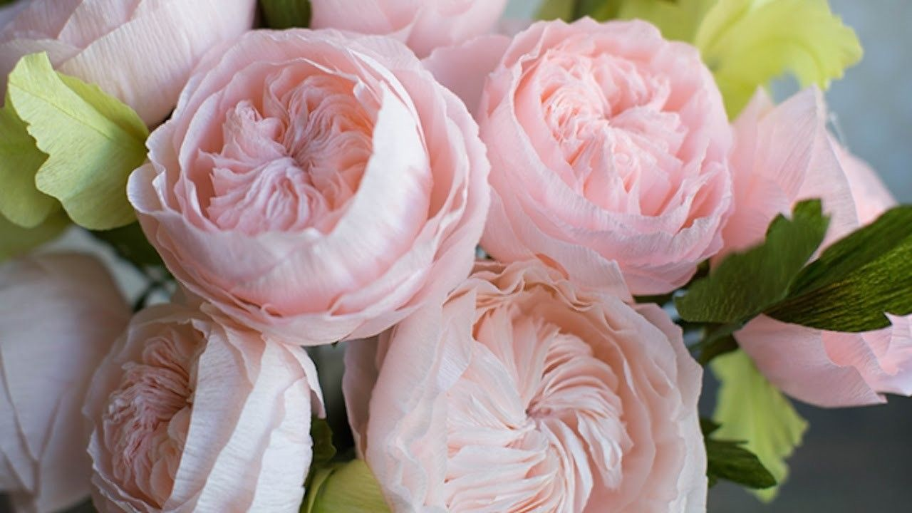 How To Make A Paper Rose Paper Flowers Diy Paper And Crepe Paper