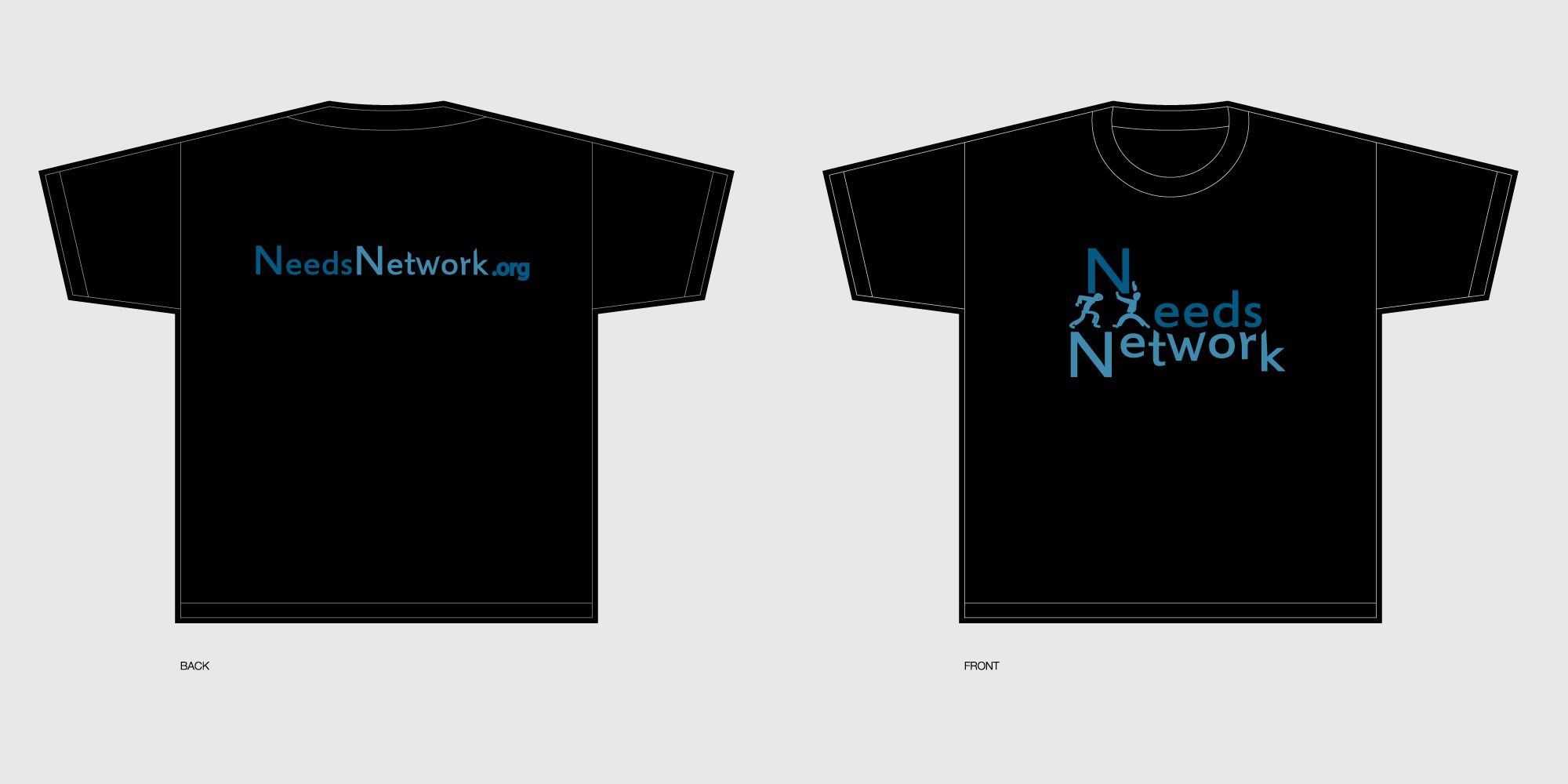 T-Shirt Design for Community fill a need company.