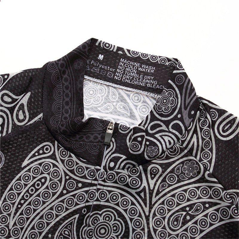 cfeafa454 Surea Skull Fietsshirt Heren 100% Polyester MTB Fietsshirt Downhill  Fietsshirt Zomer Sneldrogend Fietsen Kleding Maillot