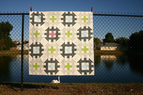New in the pattern shop today: Mod Gears PDF Quilt Pattern