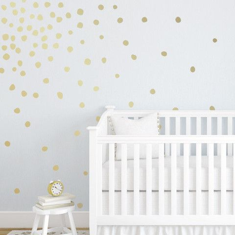 Lil Perfectly Imperfect Dots MiniPack Wall Decals Perfectly - Gold dot wall decals nursery