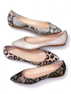 a8a9de617159 What to wear - animal print flats with summer chic dresses | Sunset ...
