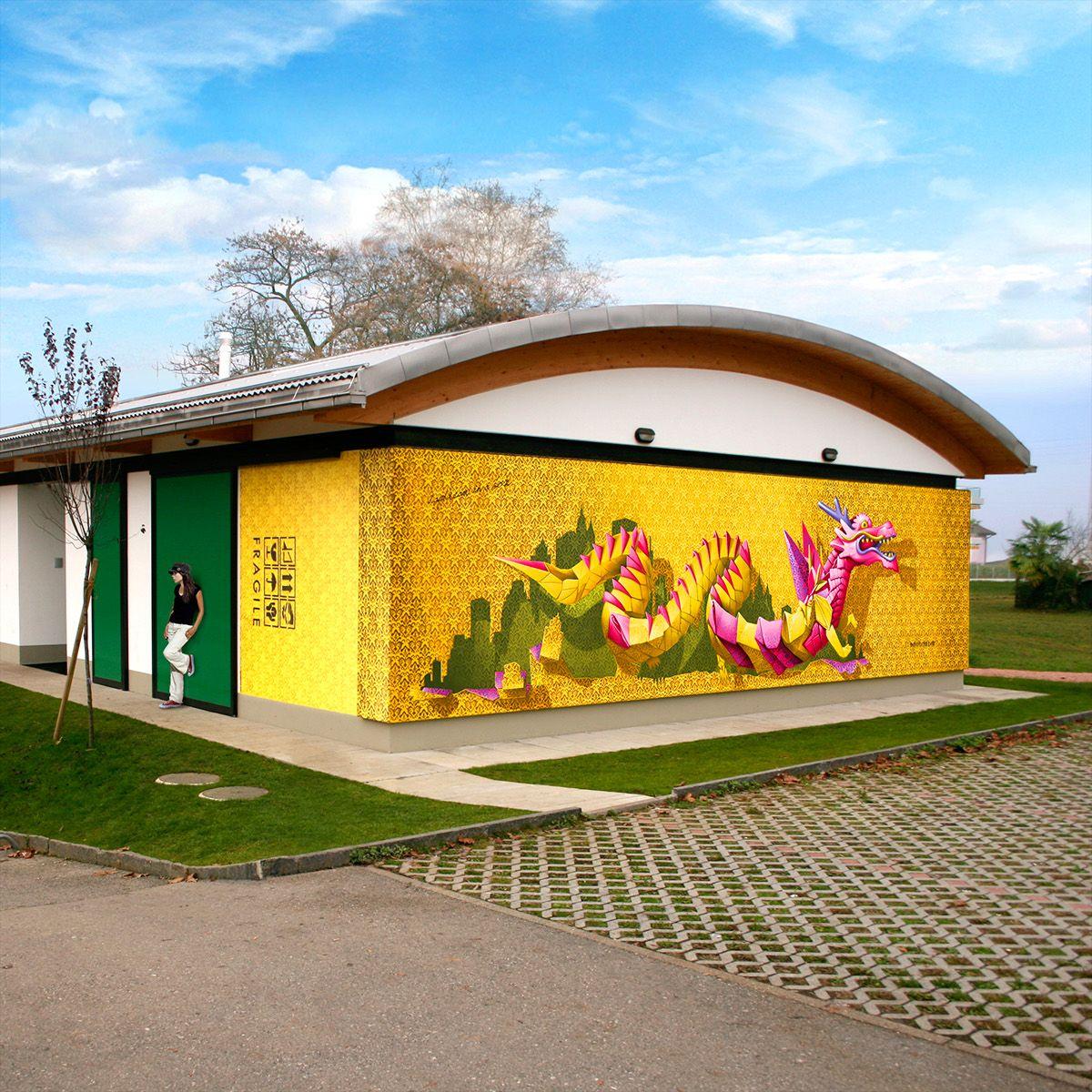 NEVERCREW   Christian Rebecchi & Pablo Togni   Street art/ Wall ...