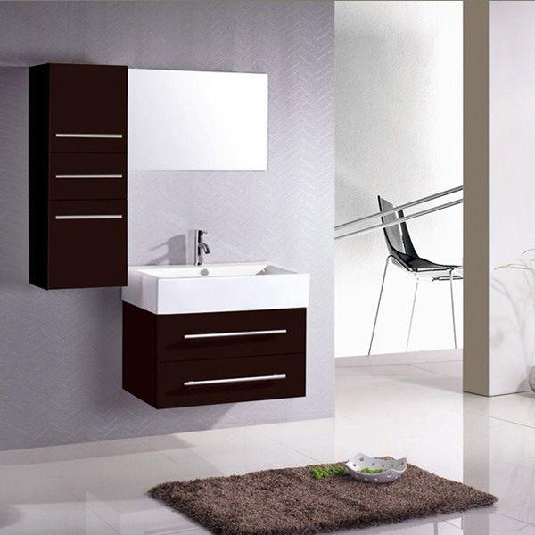Meuble de salle de bain - \ - salle de bain meuble noir